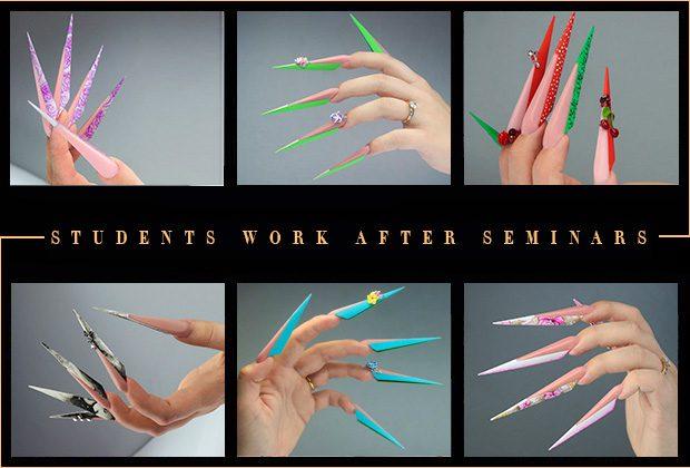 Nail art educations