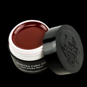 Kostka color gel no sticky layer dark cherry