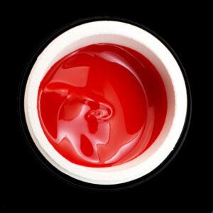 Kostka paint gel color red